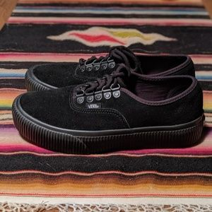 Vans Authentic Suede Platforms